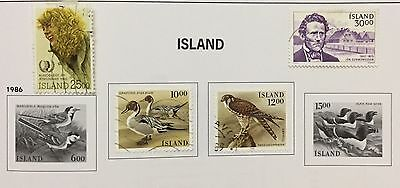 Island Iceland 1985/86 Lot Of 4 Used For Description Look At The Picture Rare