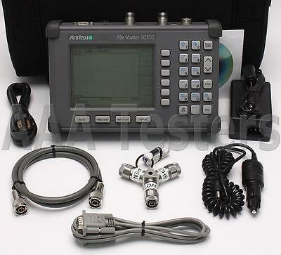 Anritsu Site Master S251C Cable Antena SiteMaster w/ Options 5 & 10A S251-C S251