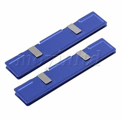 2PCS Blue Computer DDR2 DDR3 SDRAM RAM Memory Cooler Heat Spreader Heatsink