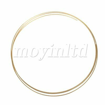 Brass alloys 2.43M Acoustic Guitar Fret wire Fretwire 2.2mm Gold NEW