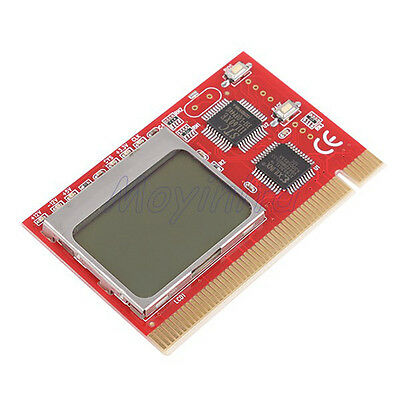 LCD PCI PC Computer Analyzer Tester Diagnostic Card for IT Enthusiasts Engineers