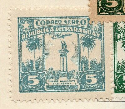 Paraguay 1933-36 Early Issue Fine Mint Hinged 5c. 125205