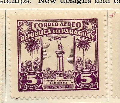Paraguay 1933-36 Early Issue Fine Mint Hinged 5c. 125208