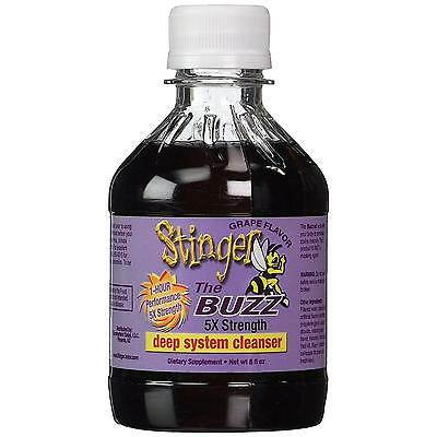 NEW Stinger 1-Hour Detox Liquid Drink 5x Strength Grape 8oz Cleanser Toxins