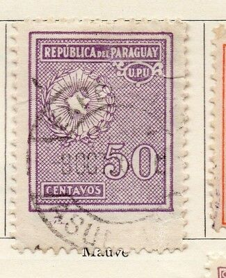 Paraguay 1934-36 Early Issue Fine Used 50c. 125226