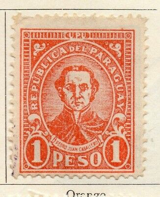 Paraguay 1934-36 Early Issue Fine Mint Hinged 1P. 125227