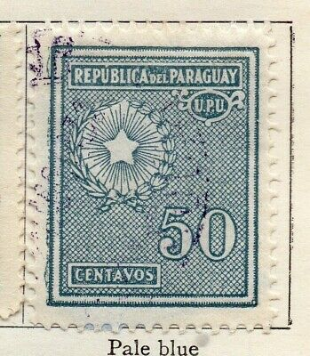Paraguay 1927-30 Early Issue Fine Used 50c. 125244