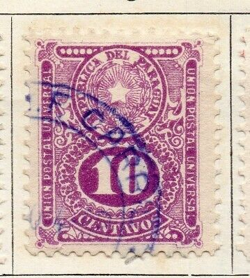 Paraguay 1920 Early Issue Fine Used 16c. 125258