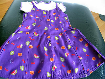 Authentic American Girl Doll 1998 Birthday Outfit Fresh Fruit Slip Dress & Tee