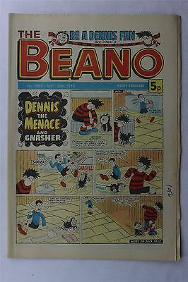 The Beano #1889 Sep 30th 1978 FN Vintage Comic Bronze Age Dennis The Menace