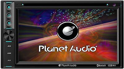 """Planet Audio P9650b 6.5"""" Double-din In-dash Dvd Receiver With Bluetooth[r]"""