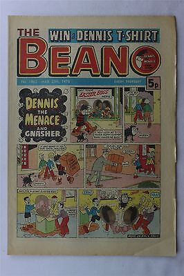 The Beano #1862 March 25th 1978 FN Vintage Comic Bronze Age Dennis The Menace