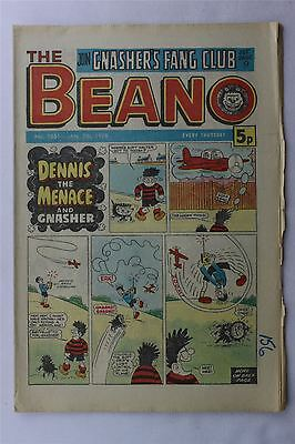 The Beano #1851 January 7th 1978 FN Vintage Comic Bronze Age Dennis The Menace