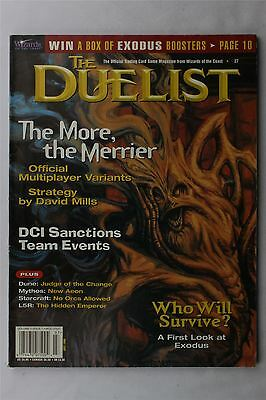 The Duellist Magazine #27 July 1998 Vintage UK Trading Cards RPG Sci-Fi Fantasy