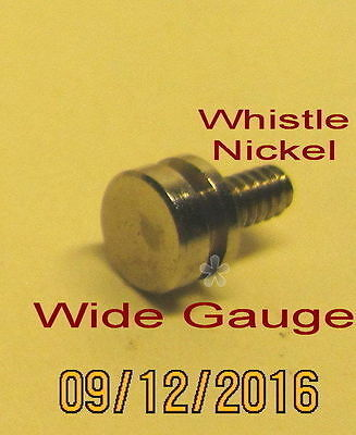 American Flyer Wide Gauge Trim – Whistle (Nickel) (NEW)