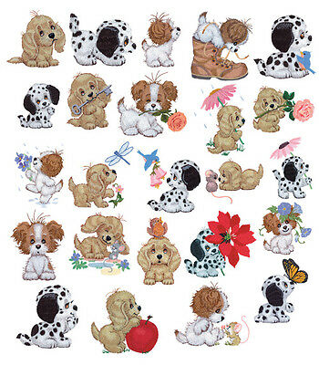 24 Puppy Toe Designs for Machine Embroidery