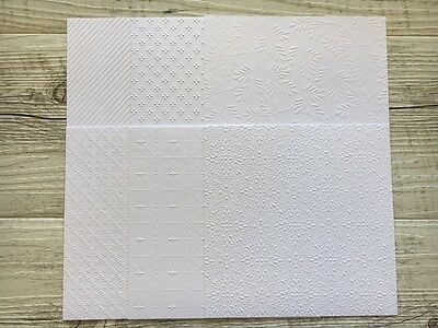 """Stampin' Up! 6x6 Specialty Paper """"Fancy Frost"""""""