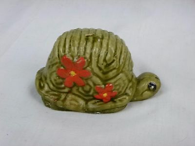 Vtg 60s NOS MOD Groovy Turtle Wax Candle w/ Flower Power Daisies!