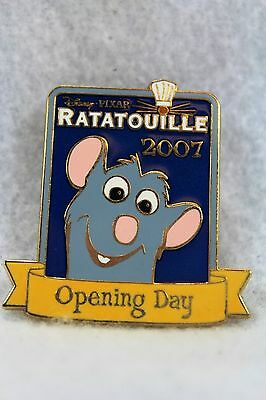 Disney WDW Pin Ratatouille Remy Little Chef Opening Day 2007 Emile Cast Member