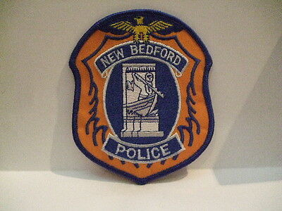 police patch   NEW BEDFORD  POLICE MASSACHUSETTS