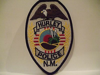 police patch   HURLEY POLICE NEW MEXICO