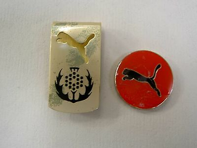 PUMA ~ Golf Ball Marker & Belt / Hat Clip ~ Imperfects ~ Limited Qty