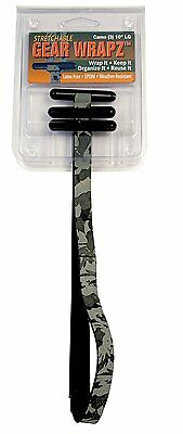 Alliance Large Camo Gear Wrapz. Camoflauge EPDM Rubber All Weather Ranger Bands