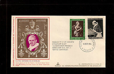 Vatican 1964 Souvenir Cover, Solemn Opening Of The Third Session Vatican Ii !!