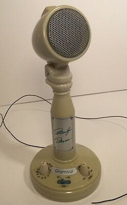 RARE 1960's MARILYN MONROE GLAMOUR RADIO IN MICROPHONE STYLE