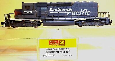 MTL Z 970 01 110 SP SD40-2 Locomotive # 7325 (SLOW RUNNING)