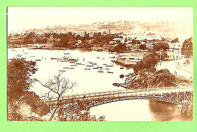 #n.  Australiana  Postcard -  Bridge, Tasmanian Series, Beattie, Hobart