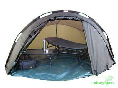 MK Angelsport 5 Seasons Dome Pro 1,5 Mann Angelzelt Karpfenzelt Bivvy Zelt