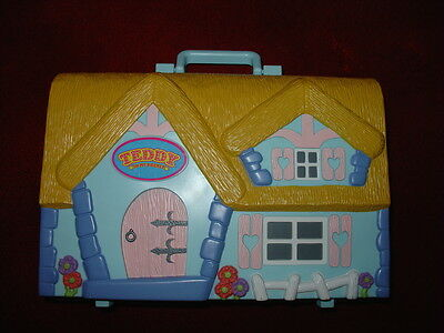Vintage Teddy In My Pocket Display Case Playset Carrycase Free Shipping