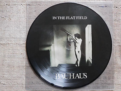 Bauhaus ‎– In The Flat Field  - - LP PICTURE DISC
