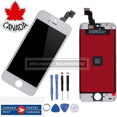 White Replacement for iPhone 5C LCD Touch Screen Digitizer Dispaly Assembly CA