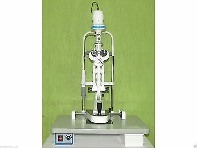Slit Lamp Microscope 2 Step Haag Streit Type Complete Free Shipping