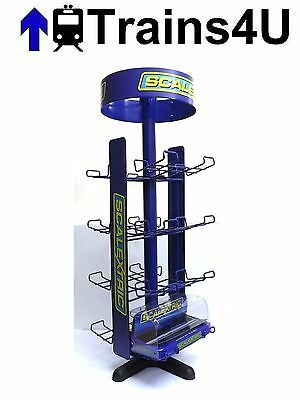 Scalextric Commercial Display Stand for Eight Cars in Boxes