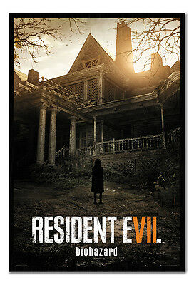 Resident Evil 7 Key Art Poster Magnetic Notice Board Inc Magnets