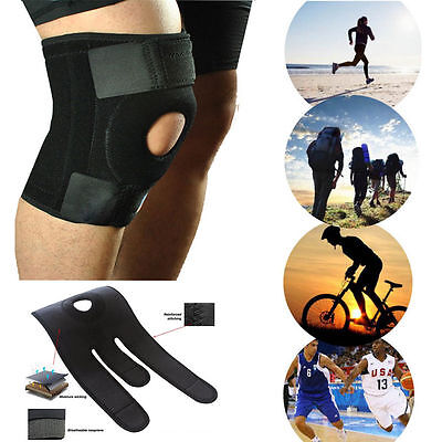 Neoprene Patella Elastic Knee Brace Support Gym Adjustable Stabilising Strap kne