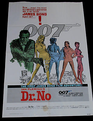james bond movie posters Dr No-octopussy