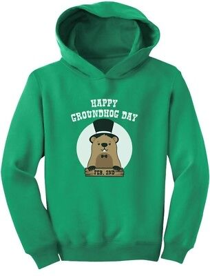 Happy Groundhog Day - Groundhog Day Toddler Hoodie Gift Idea