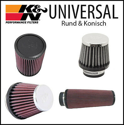 K&N Filters UNIVERSAL Performance Air Filter CONICAL 60 TYPES