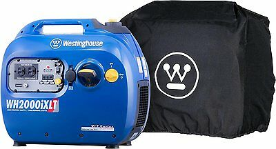 Inverter Generator with All-Weather Cover - 1800 Rated Watts and 2200 Peak