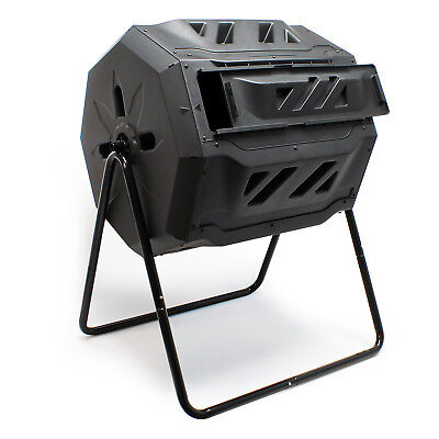 Drum composter 160 l rotatable Composter Garden composter Compost container