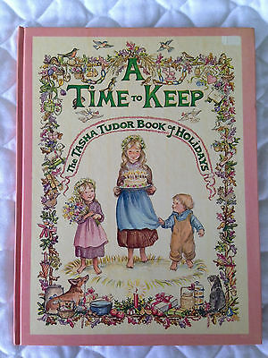Book A Time To Keep by Tasha Tudor Hand SIGNED Illustrated with Welsh Corgi Dogs