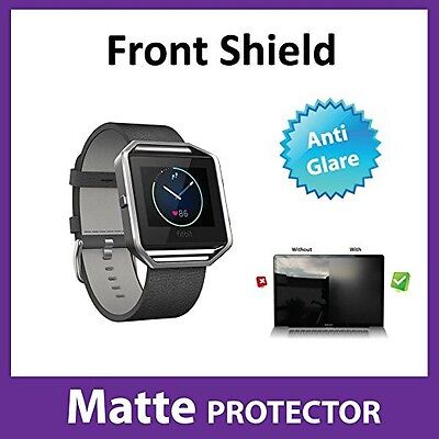 Premium Fitbit Blaze MATTE Anti Glare Front Screen Protector Film Military Grade