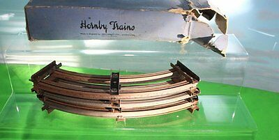 Hornby M9 Curved Rails 6 Rails Boxed 1948