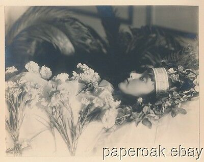 Post Mortem Photo Of Young Beautiful Russian Woman ca.1910