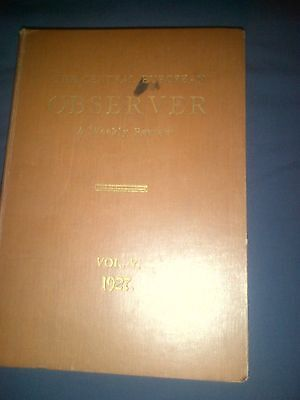 The Central European Observer A Weekly Review - Vol V 1927 - Bound Magazine