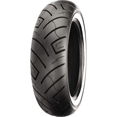 180/70-15 6 Ply Shinko 777 Heavy Duty White Wall Rear Tire
